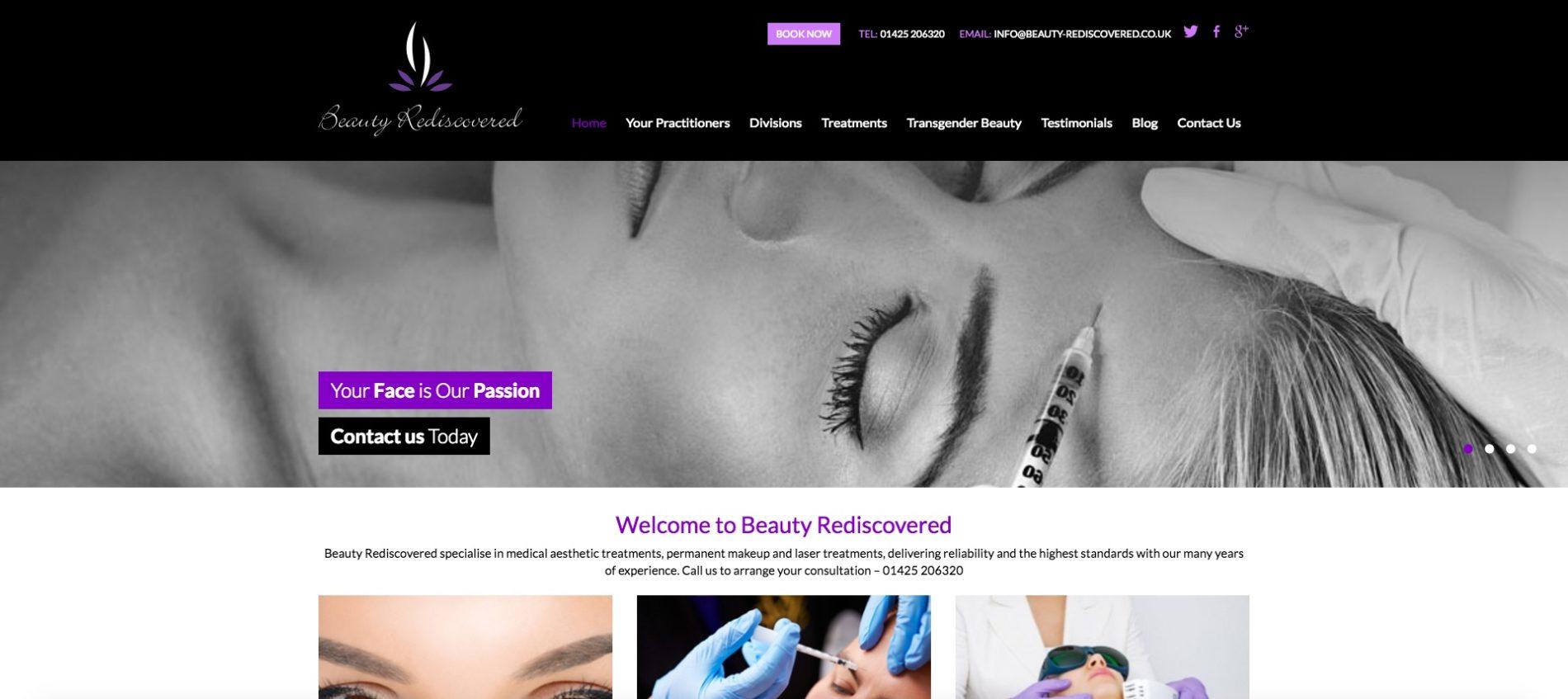 Beauty Website Audit