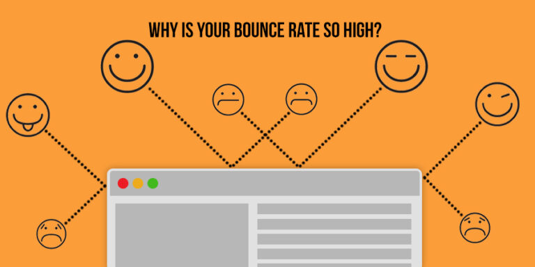Top 10 reasons why your bounce rate is high?