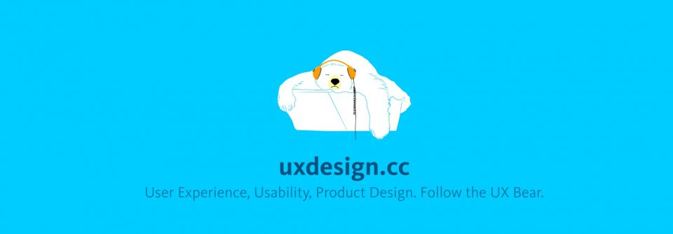 uxdesign.cc homepage