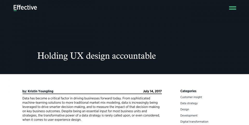 Effective UI Blog